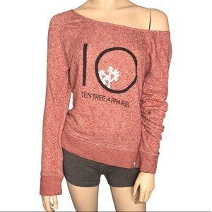 Tentree Apparel Long Sleeve Boatneck Sweatshirt